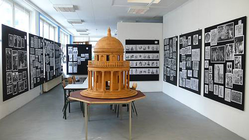 Ausstellung des 8. Salon in St. Pauli Foto: Webseite Kunstraum München