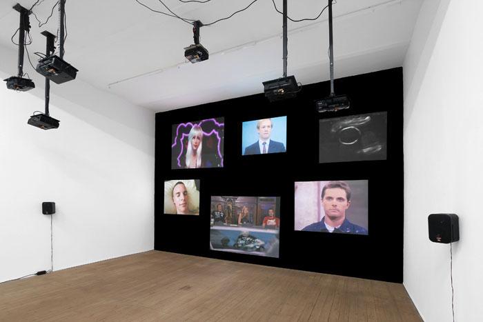 Aktuelle Ausstellung von Steffen Zillig in der Galerie Conradi Foto: Galerie Conradi