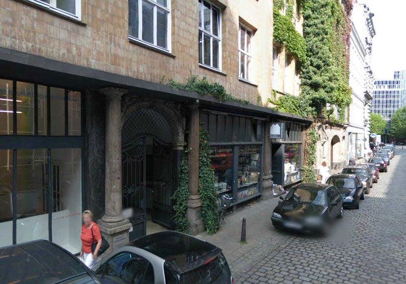 Allein auf der Admiralitätsstraße Foto: Google Street View