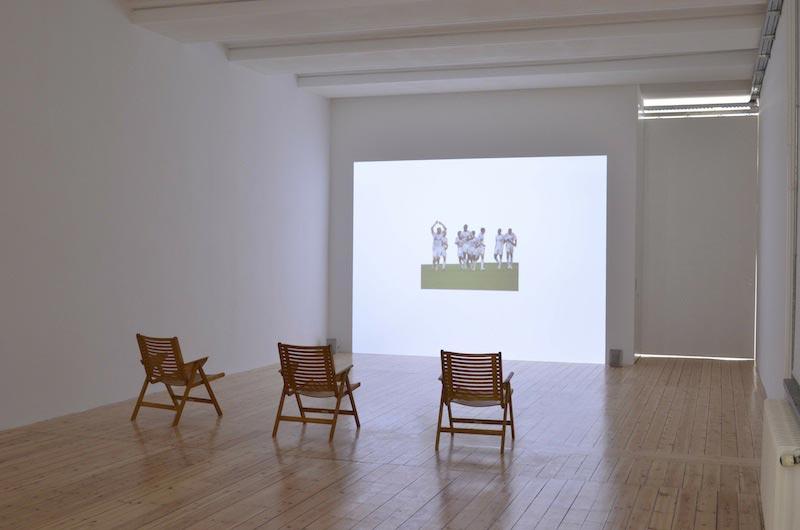 "Haig Aivazian in der Galerie Sfeir-Semler: ""Fugere"", 2013"