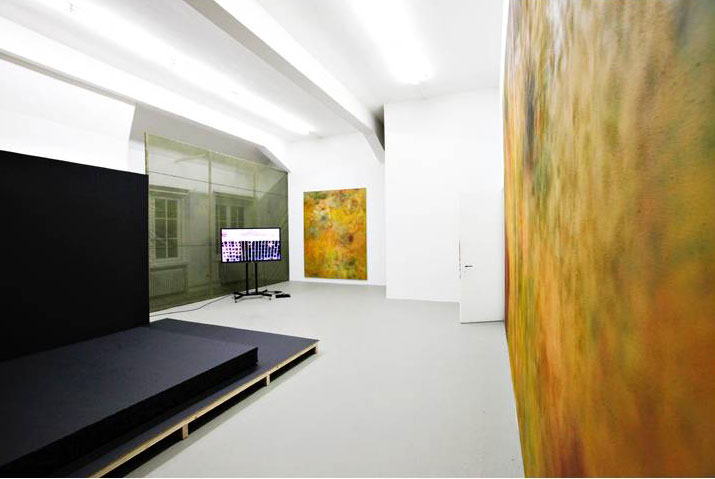 Installation von Stefan Holzmann bei der Absolventenausstellung der HFBK Foto: Katharina Haak