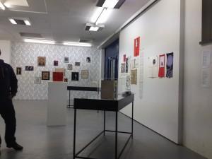 8.salon Ausstellungsansicht Asger Jorn/Henri Chopin 2014