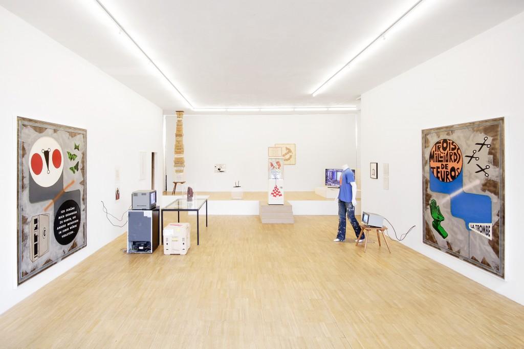 Thomas Baldischwyler, Ausstellungsansicht Sparkasse Bossard, Kunsthaus Jesteburg 2016, Foto: Heiko Neumeister